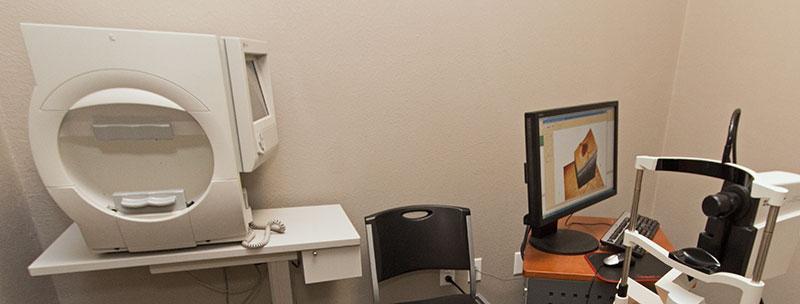 Humphrey Optometric Machine