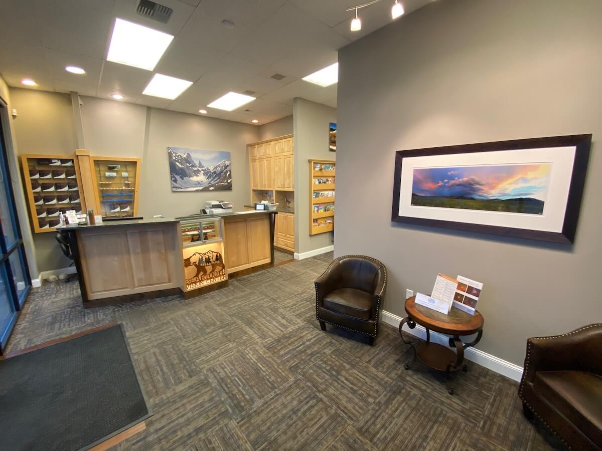 The Beartooth Vision Center Main Lobby Area
