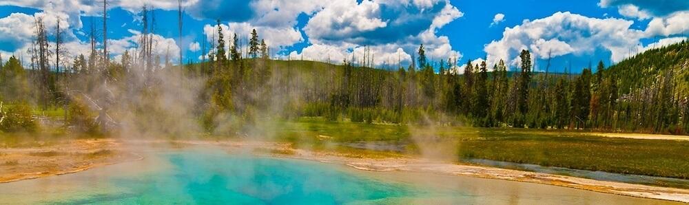 Sulphur Springs in Montana - Clear
